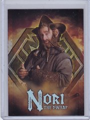 2014 Cryptozoic The Hobbit Foil Character Biography card CB-09 Nori
