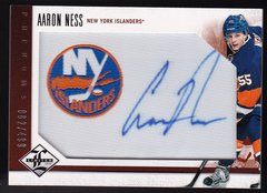 Aaron Ness 2012-13 Limited Hockey Phenoms Autograph Rookie card #201 #d 082/499