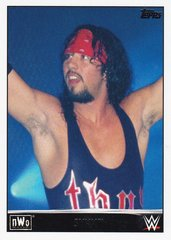 2015 Topps WWE Heritage NWO Tribute card # 34 of 40 Syxx