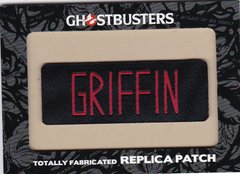 Ghostbusters Totally Fabricated Replica Patch card H7 Griffin