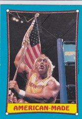 1987 O-Pee-Chee WWF Wrestling card # 35 Hulk Hogan American Made