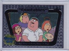 Family Guy Seasons 3,4,5 Quotables Insert card #Q10