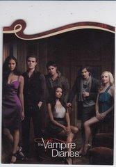 The Vampire Diaries Season 1 Die Cut Insert card D01