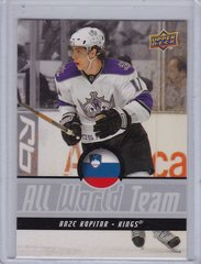 Anze Kopitar 2008-09 Upper Deck All World Team card AWT12