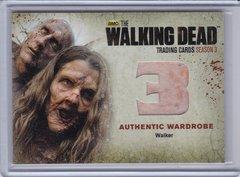 Walking Dead Season 3 Walker Wardrobe card W12