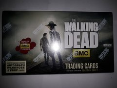 The Walking Dead Season 4 Part 1 Factory Sealed 24 Pack Box Cryptozoic