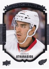 Andreas Athanasiou 2015-16 Upper Deck UD Portraits Rookies card P-65 Red Wings
