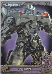 Transformers Optimum Collection Holographic Foil Puzzle Card PF8 Sideswipe