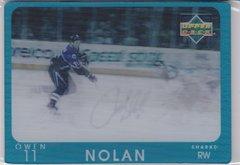 Owen Nolan 1997-98 Upper Deck Diamond Vision Signature Moves card #13
