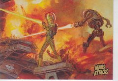 2013 Topps Mars Attacks Invasion card #21 Gold Foil Parallel