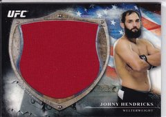 Johnny Hendricks 2014 Topps UFC Bloodlines Jumbo Relic Memorabilia card BFJR-JH #d 015/110