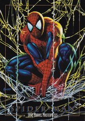 1992 Marvel Masterpieces Spider-Man Promo card