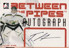 Tobias Stephan 2006-07 Between The Pipes Future Stars Autograph card A-TST
