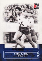 Harry Jerome 2011 In The Game Canadiana base card #36 Blue parallel PR /50