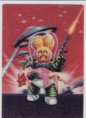 2011 Topps Garbage Pail Kids Flashback 3D Trading card #4 of 5