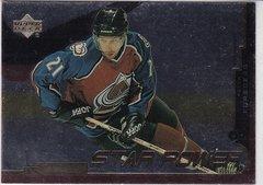 Peter Forsberg 1999-2000 Upper Deck Gold Reserve Hockey Star Power card # 154