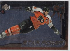 Eric Lindros 1999-2000 Upper Deck Gold Reserve Hockey Star Power card # 137