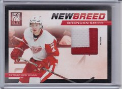 Brendan Smith 2011-12 Elite NewBreed 2 Color Patch card #43 #d 03/25