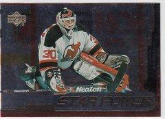 Martin Brodeur 1999-2000 Upper Deck Gold Reserve Hockey Star Power card # 145