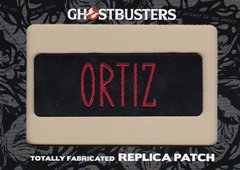 Ghostbusters Totally Fabricated Replica Patch card H6 Ortiz