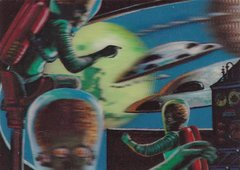 2012 Topps Mars Attacks Heritage 3-D Lenticular Insert card #2 of 5