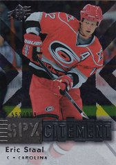 Eric Staal 2009-10 SPX Hockey SPXcitement card X24 #d 553/999