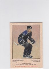 Alexander Frolov 2002-03 Parkhurst Retro Rookie card #212 Mini Parallel