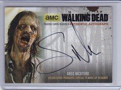 Walking Dead Season 4 Part 1 Greg Nicotero Autograph card GN4