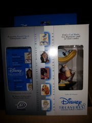 Disney Treasures Trading Cards Box with Scrooge McDuck Figure
