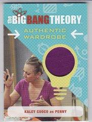 The Big Bang Theory Seasons 6 & 7 Kaley Cuoco as Penny Wardrobe card M19