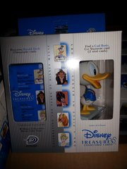 Disney Treasures Trading Cards Box with Millenium Donald Figure