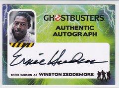 Ghostbusters Ernie Hudson as Winston Zeddemore Autograph card EH