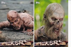 Topps Walking Dead Season 5 Walkers Insert cards choose your number from the list