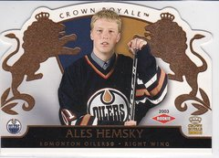 Ales Hemsky 2002-03 Crown Royale Hockey Rookie card #114 #d 2098/2299
