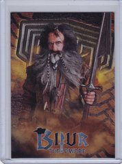 2014 Cryptozoic The Hobbit Foil Character Biography card CB-13 Bifur