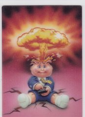 2011 Topps Garbage Pail Kids Flashback 3D Trading card #5 of 5