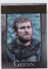 Game Of Thrones Season 4 Grenn card #54 Gold Parallel #d 148/150