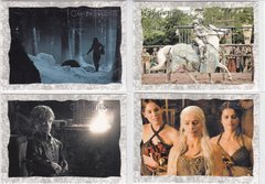 Game Of Thrones Season 2 Storyboard Art Insert card Choose Your numbers from the list