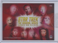 Star Trek TOS Heroes And Villains Case Topper card CT2