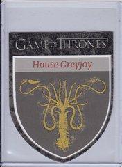 Game Of Thrones Season 1 The Houses Die Cut Insert card H9 House Greyjoy