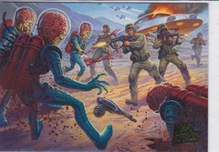 Mars Attacks Invasion base card # 44 Extra Gore Parallel