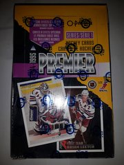 1994-95 O-Pee-Chee Premier Series 1 Factory Sealed 36 Pack Box