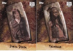 Walking Dead Season 6 Chop Insert Choose Your Numbers from the list