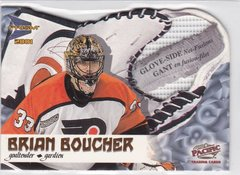Brian Boucher 2000-01 McDonald's Pacific Glove Side Net Fusions card #5