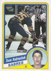 Dave Andreychuk 1984-85 Topps Rookie card #13 SP