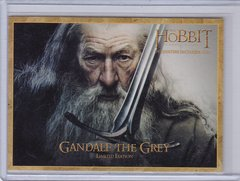 Denny's The Hobbit Gandalf The Grey Rare Gold Border card