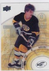 Bobby Orr 2014-15 Upper Deck Ice Hockey Legends Short Print card #81