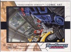 2003 Fleer Transformers Armada Comic Art insert card 9 of 12 ACA