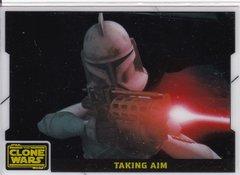 2008 Topps Star Wars Clone Wars Animation Cel Insert Card #1 of 10