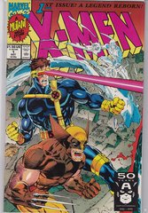 1991 Marvel X-Men #1 1st Issue A Legend Reborn Wolverine Cyclops Cover